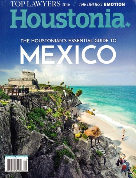 Houstonia Cover - 12/1/2016