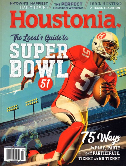 Houstonia Cover - 1/1/2017