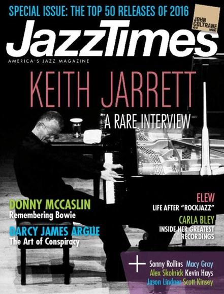 JazzTimes Cover - 2/1/2017