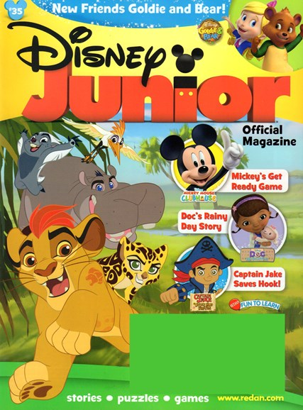 Disney Junior Cover - 1/1/2017