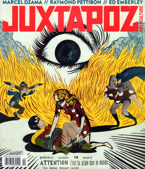 Juxtapoz Cover - 2/1/2017