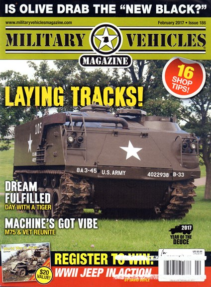 Military Vehicles Cover - 2/1/2017