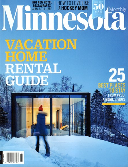 Minnesota Monthly Cover - 2/1/2017