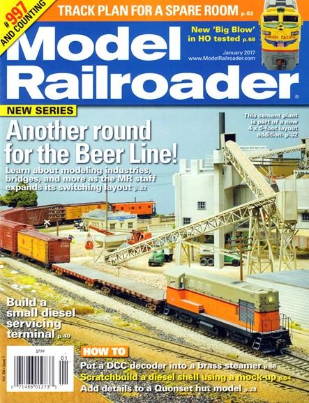 Model Railroader Cover - 1/1/2017