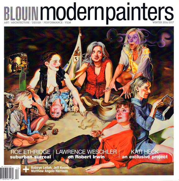 Blouin Modern Painters Cover - 12/1/2016