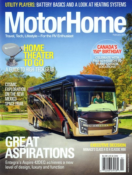 MotorHome Cover - 2/1/2017