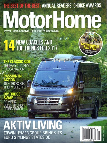 MotorHome Cover - 1/1/2017