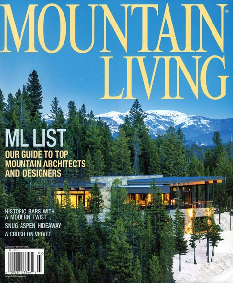 Mountain Living Cover - 1/1/2017