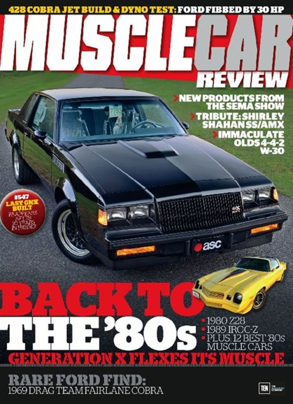Muscle Car Review Cover - 2/1/2017