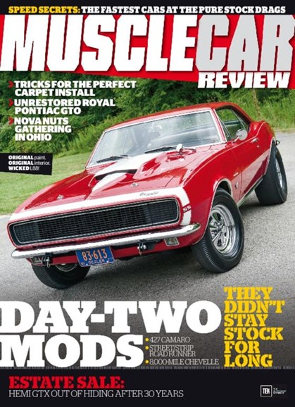 Muscle Car Review Cover - 1/1/2017
