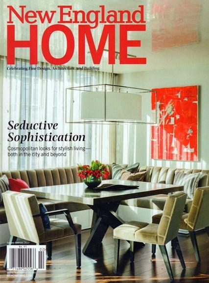 New England Home Cover - 1/1/2017