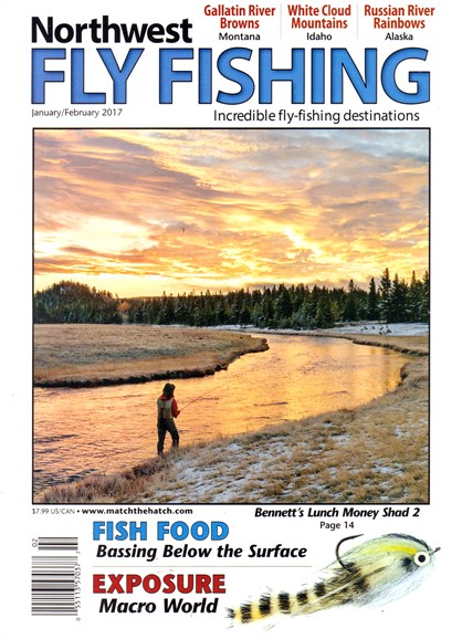 Northwest Fly Fishing Cover - 1/1/2017