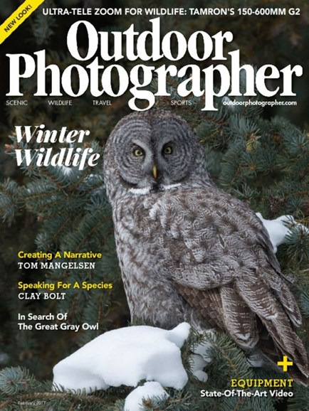 Outdoor Photographer Cover - 2/1/2017