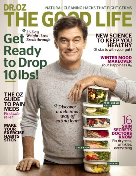 Dr. Oz The Good Life Cover - 1/1/2017