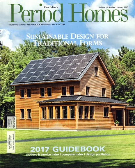 Period Homes Cover - 1/1/2017