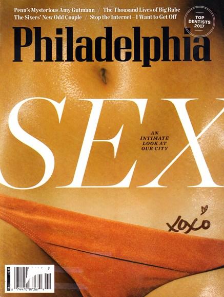 Philadelphia Magazine Cover - 2/1/2017