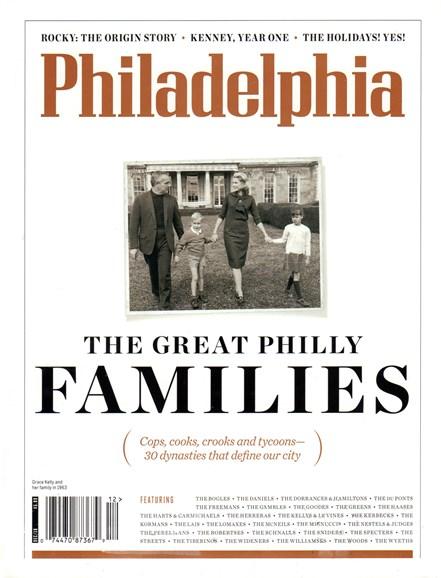 Philadelphia Magazine Cover - 12/1/2016