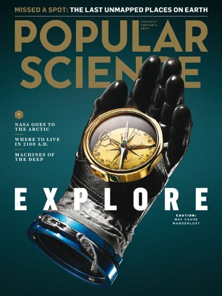 Popular Science Cover - 1/1/2017