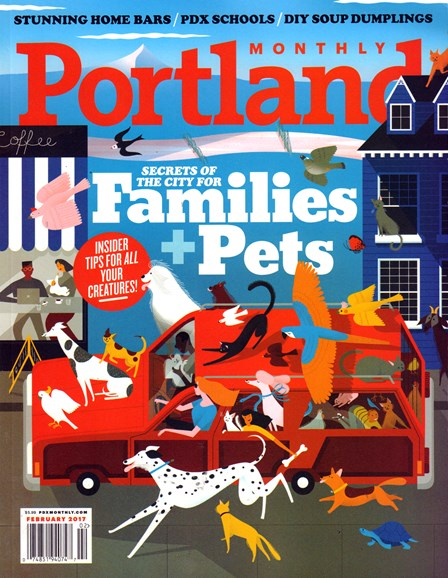 Portland Monthly Cover - 2/1/2017
