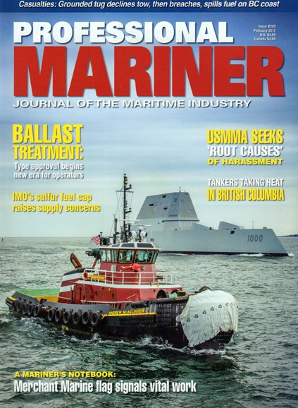 Professional Mariner Cover - 2/1/2017