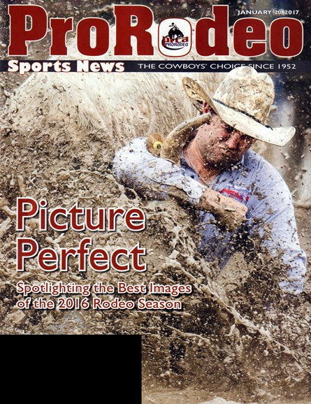 Pro Rodeo Sports News Cover - 1/20/2017