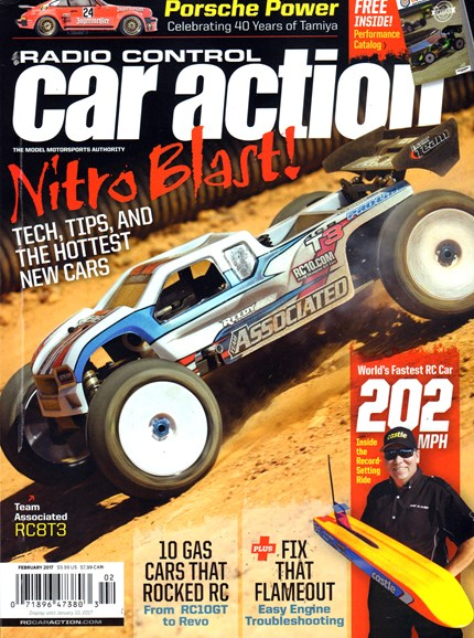 Radio Control Car Action Cover - 2/1/2017