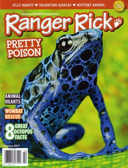 Ranger Rick Cover - 2/1/2017