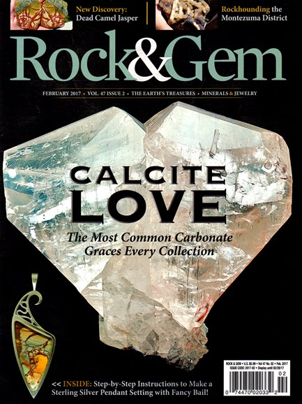 Rock & Gem Cover - 2/1/2017