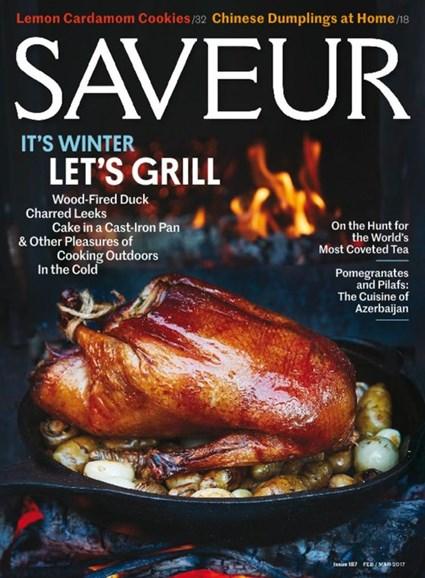 Saveur Cover - 2/1/2017