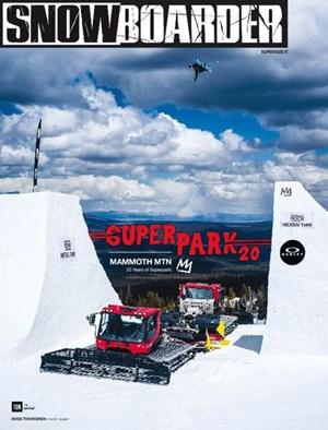 Snowboarder Magazine | 1/1/2017 Cover