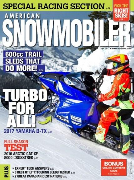 American Snowmobiler Cover - 1/1/2017