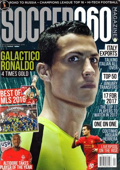 Soccer 360 Cover - 1/1/2017