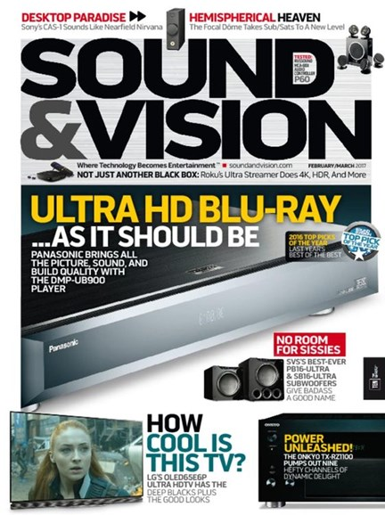 Sound & Vision Cover - 2/1/2017