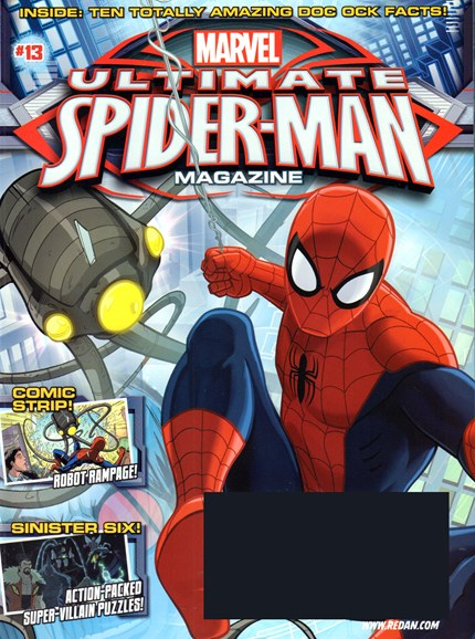 Marvel Spider-Man Cover - 1/1/2017