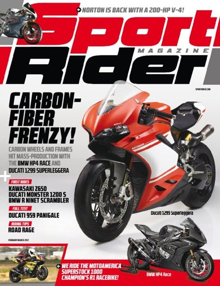 Sport Rider Cover - 2/1/2017