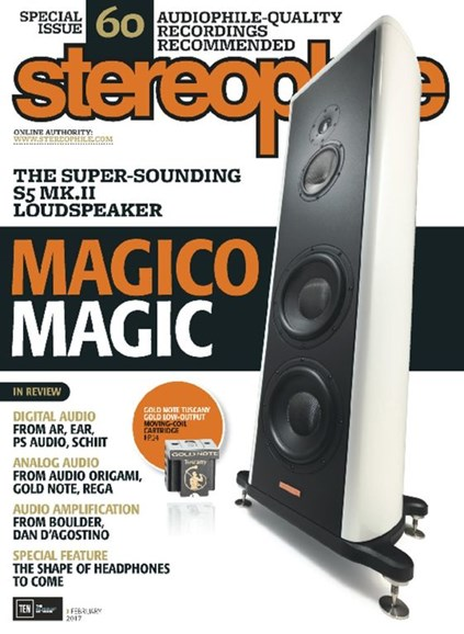 Stereophile Cover - 2/1/2017