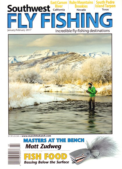 Southwest Fly Fishing Cover - 1/1/2017