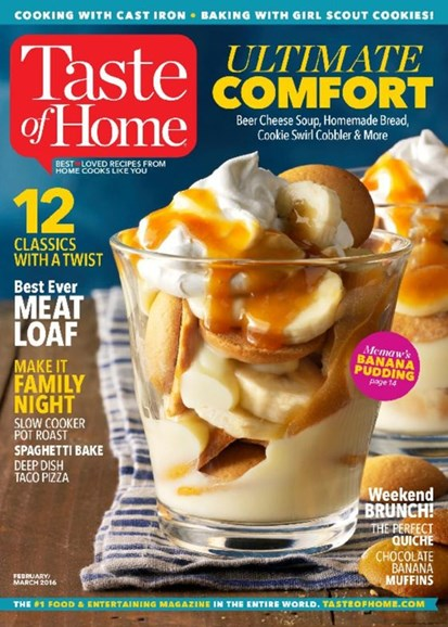 Taste of Home Cover - 2/1/2017