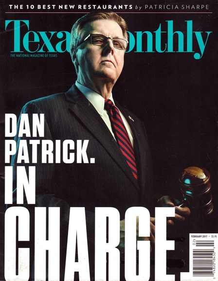 Texas Monthly Cover - 2/1/2017