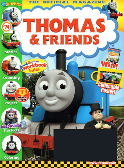 Thomas & Friends Cover - 1/1/2017