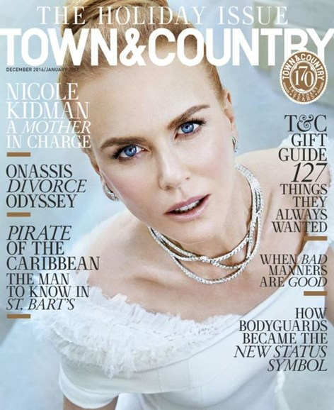 Town & Country Cover - 12/1/2016