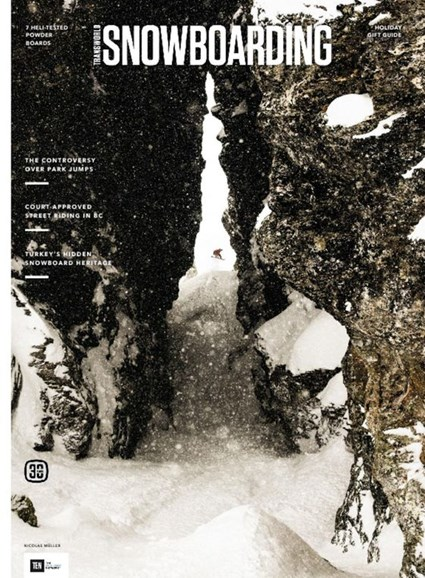 Transworld SNOWboarding Cover - 12/1/2016