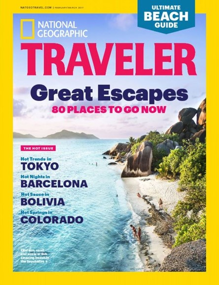 National Geographic Traveler Cover - 2/1/2017