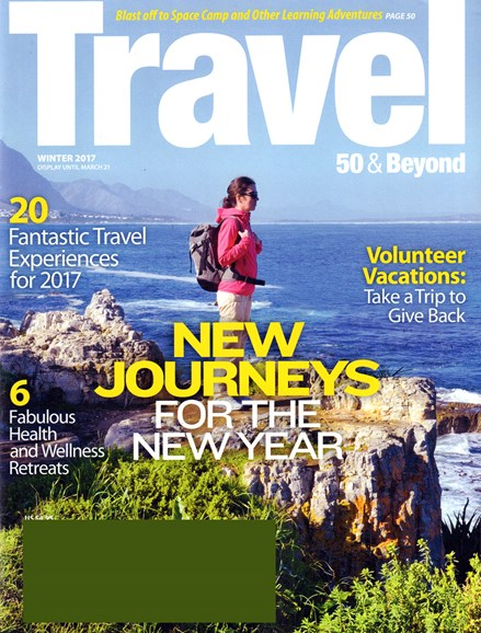 Travel 50 & Beyond Cover - 1/1/2017