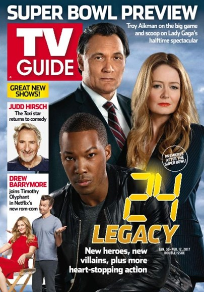 TV Guide Cover - 1/30/2017