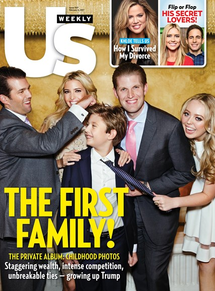 Us Weekly Cover - 2/6/2017