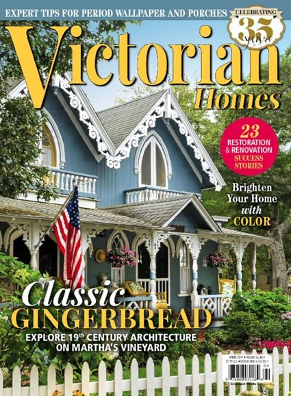 Victorian Homes Cover - 3/1/2017