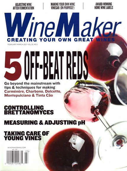 Winemaker Cover - 2/1/2017