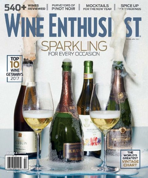 Wine Enthusiast Cover - 2/1/2017