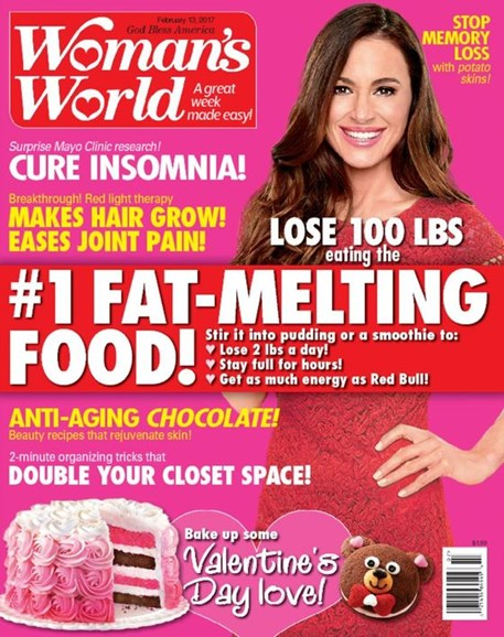 Woman's World Cover - 2/13/2017